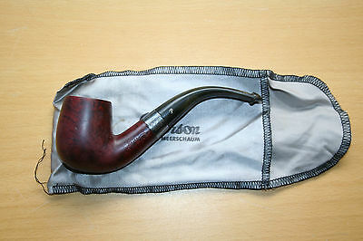Pipe - Peterson's Sterling Silver - in soft bag
