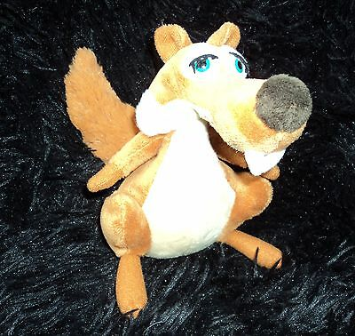 Official Ice Age 3 Scrattle The Female Squirrel Soft Toy Plush