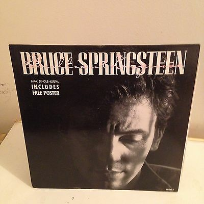 """Bruce Springsteen 12"""" Brilliant Disguise"""