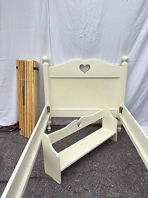 Single Bed Frame with Matching Self Unit