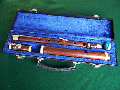 Wooden 3 Key Irish D Flute by Sweetheart With Hard Case