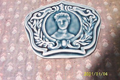 antique cast iron parlor stove tile reproduction from original Garland stove