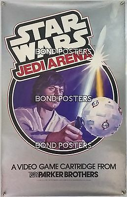 Star Wars: Jedi Arena - Advertising Tie-in Poster - Parker Brothers - ULTRA RARE