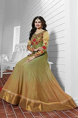 Pakistani    Indian Anarkali Dress For Wedding Party EID-Georgette Semi-Stitched