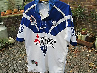 Vintage Canterbury Bulldogs Rugby League Shirt, Nrl Rugby Top.