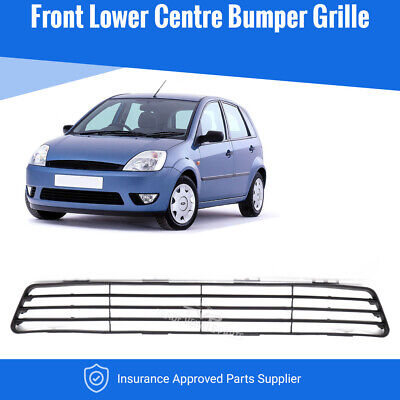 Ford Fiesta Mk6 2002>2006 Front Bumper Centre Grille New Insurance Approved