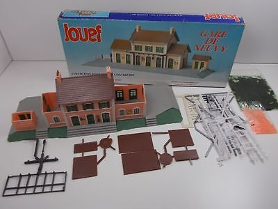 French Jouef HO Station Kit De Neuvy (Boxed)