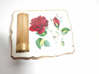 vintage stratton compact with lipstick