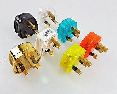 3pin Uk Plug Mains Electrical Plug 13A Fuse fitted Plug Uk Power