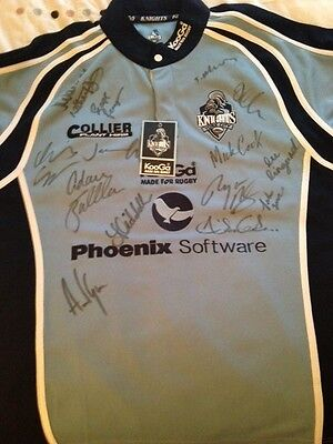 York City Knights Rlfc - Full Signed Shirt