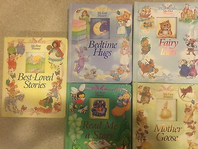 """""""My First Treasury"""" All First Editions: Lot of 5 Children's Books Excellent Cond"""