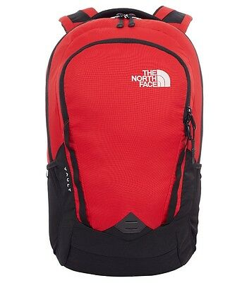 (UK) The North Face Zaino Vault Backpack, Tnf Black/Tnf Red