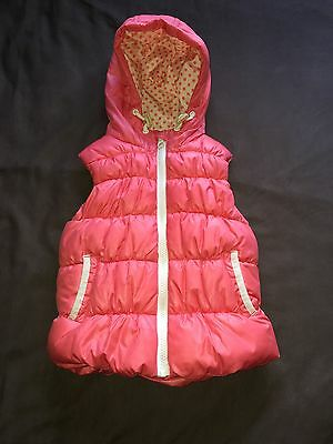Girl's Pink Body Warmer, Gilet, Jacket from Next size 12 To 18 Months