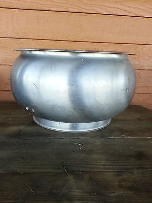 Cream Separator Bowl - Flower Pot Garden Planter? Industrial Primitive! Unmarked