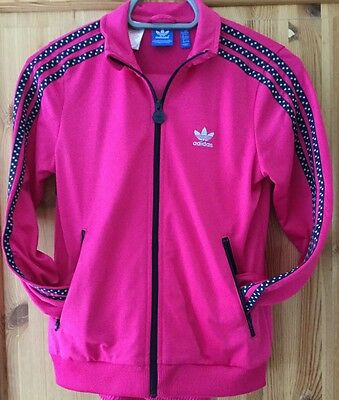 Lovely Girl's Adidas tracksuit size 11-12
