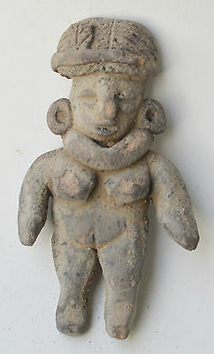 Tlatilco figure figurine terracotta pottery pre columbian Mexico.
