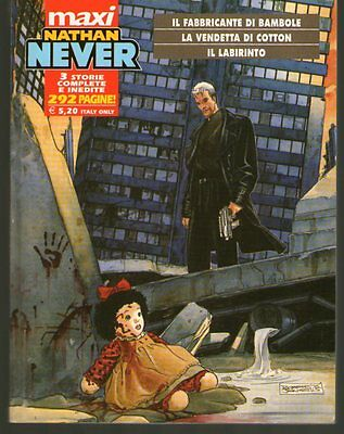 NATHAN NEVER Maxi n. 1 - 3 storie complete e inedite - ESAURITO