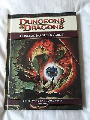 Dungeons and Dragons dungeon masters guide 4th edition