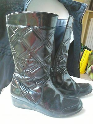 girls clarks boots size 1 f