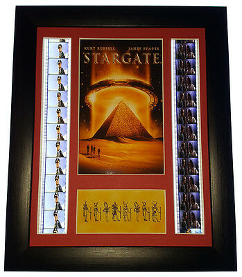 Stargate Movie Mounted And Framed Film Cell Display