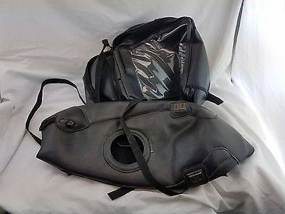 Triumph Sprint 900 Bagster Tank Cover and Tank Bag Black