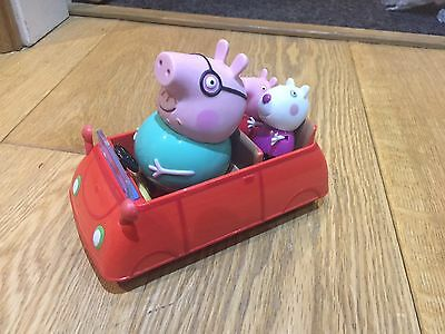 PEPPA PIG ~ CAR with 4 x FIGURES Selection