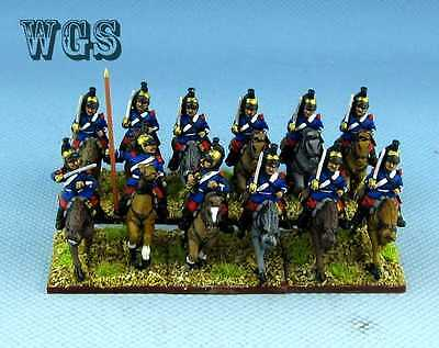 15mm Franco - Prussian War WGS painted French Cavalry Dragoon PFA002