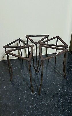 5 School Science Laboratory Bunsen Tripod Stands Industrial Florists Cake Stand