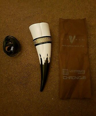 loot crate vikings drinking horn festival world of warcraft beer