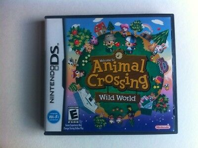 NO GAME! Animal Crossing Wild World USA version Case & Manual only!