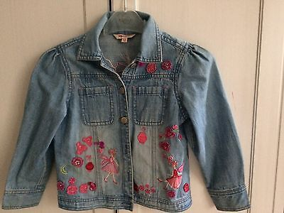 Girls Monsoon Denim Jacket Aged 4-6
