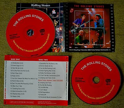 The Rolling Stones - LIVE IN HONG KONG 2003 2CD FIRST NIGHT - LIMITED EDITION