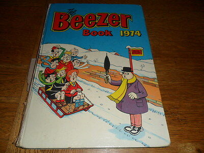 The Beezer Book 1974 Annual Dc Thompson *price Unclipped*