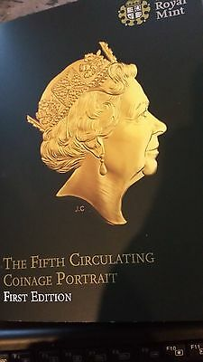 Fifth circulating coinage portrait 2015