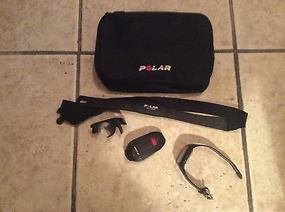 Polar Rs300SD Heart Rate Monitor with S1 footpod/ bike mount and carrying case