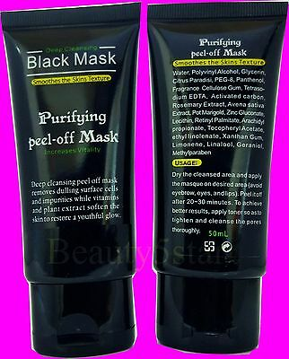 Black Mask- Blackhead Peel-off Purifying Deep Cleaning Facial Mask 50ml**UK**
