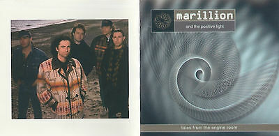 Inlays: Marillion ant the positive light - tales from the engine room