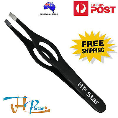 WideGrip Hair Removal, Eyebrow Plucking Tweezer plucker Slanted Tip