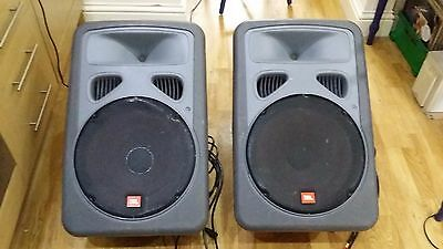 JBL Eon 15 Powered speakers