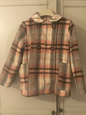 Next Girls Coat Age 5-6 Years