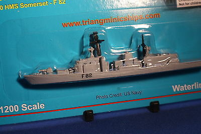 HMS SOMERSET F82 Triang Minic Ships Type 23 Frigate mint carded.