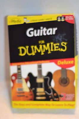 Guitar For Dummies Deluxe Interactive Educational Software
