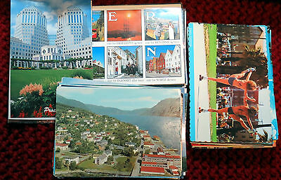 Mixed Lot of 100 Vintage Postcards From Several Estates. #4