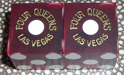 Four Queens Hotel and Casino - Las Vegas - Playing Dice - Red