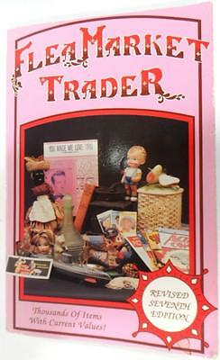 Flea Market Trader Book Value Antique Price Guide Collectibles Книга Антиквариат