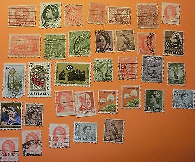 Good collection of stamps from Australia (set 2)