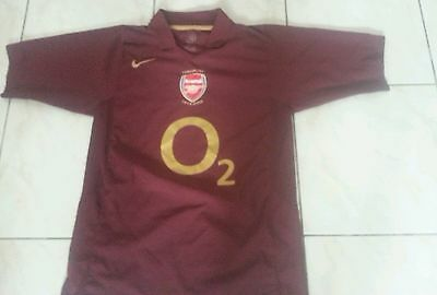 Maillot collector Arsenal 2006 authentique taille L