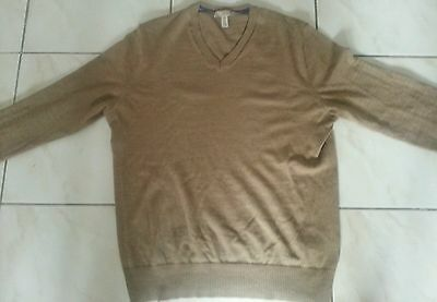 Pull Gap camel laine mérinos taille M