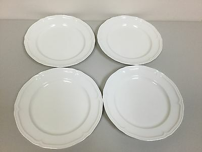 NWT Set of FOUR (4) Villeroy & Boch MANOIR Dinner Plates - BRAND NEW - FREE SHIP