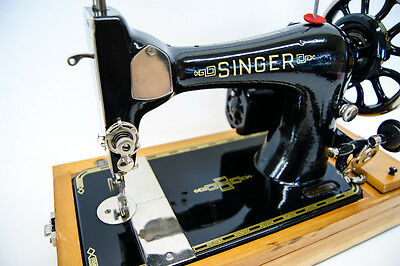 Fully Serviced SINGER 28K Heavy Duty Electric Sewing Machine